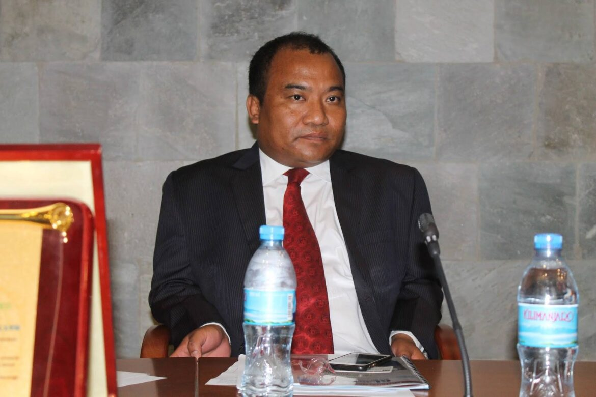 Robert Shetkintong appointed as India's envoy to Ethiopia