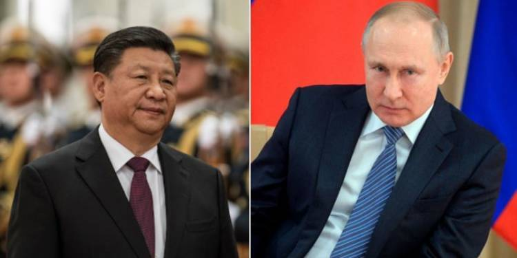 Russia starts military buildup  near the Chinese border