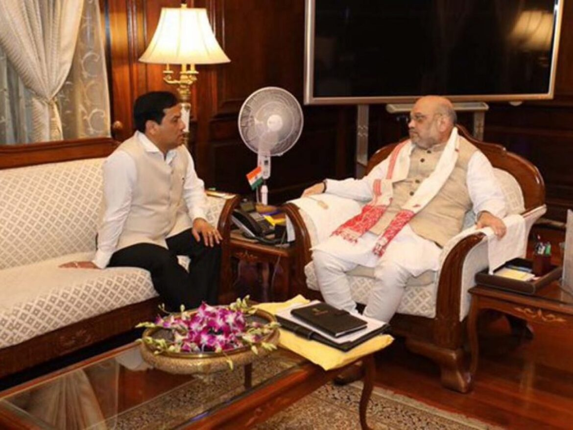 Assam CM and Himanta meets Union Home Minister Amit Shah