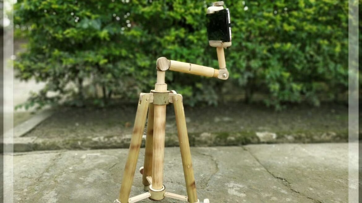 Merit Award of Outstanding Crafts-Person of the year for Bamboo Tripod