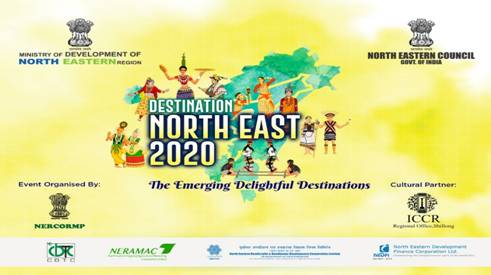 Destination North East 2020 fest starting on 27 September. DoNER Minister launched logo and theme song