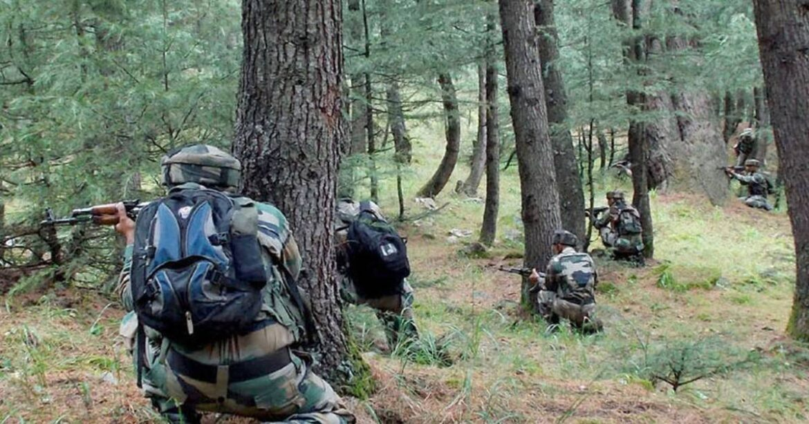 J&K: Two LeT Terrorists Gunned Down By Security Forces in an Encounter In Anantnag