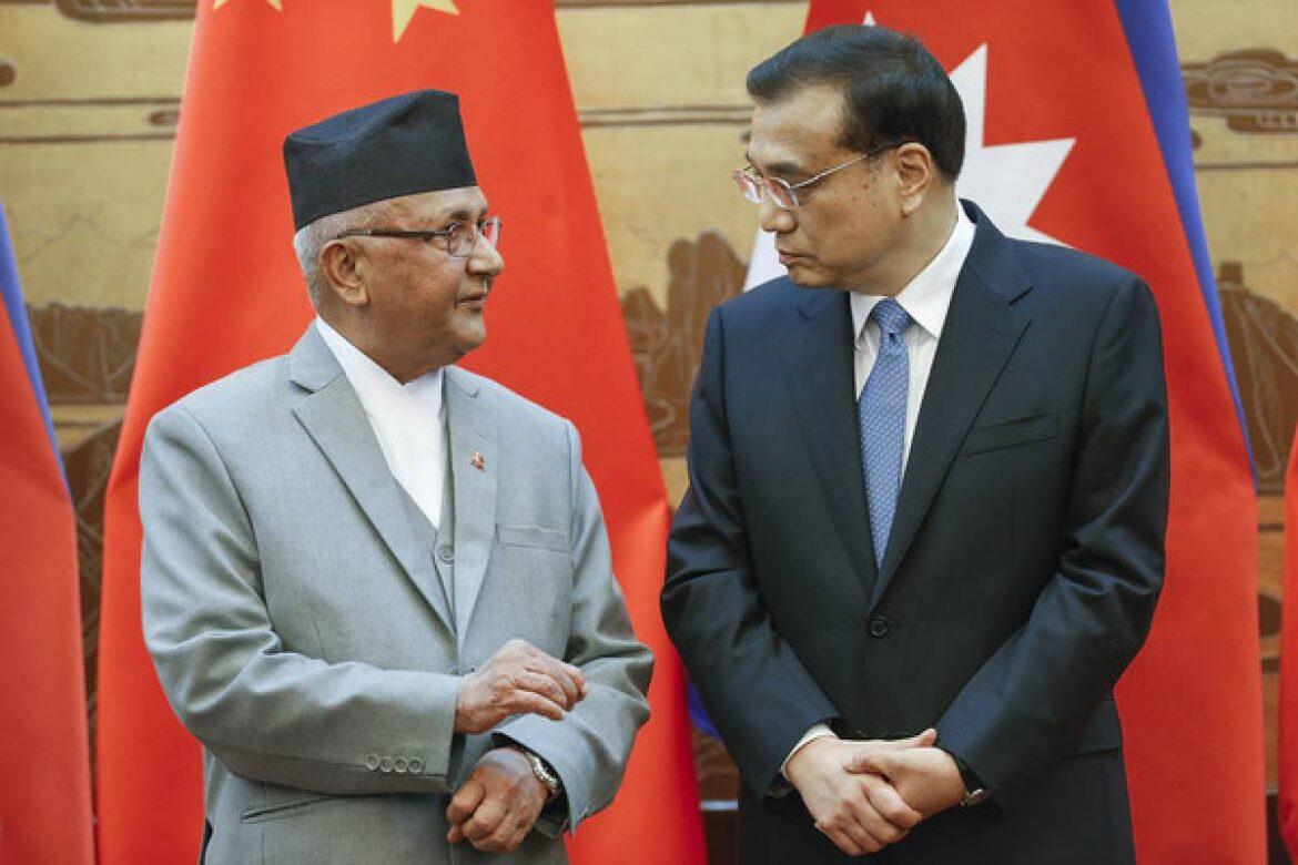Chinese Occupation Of Nepali Territory Comes To Light Despite Oli Government's efforts to wrap it under the carpet