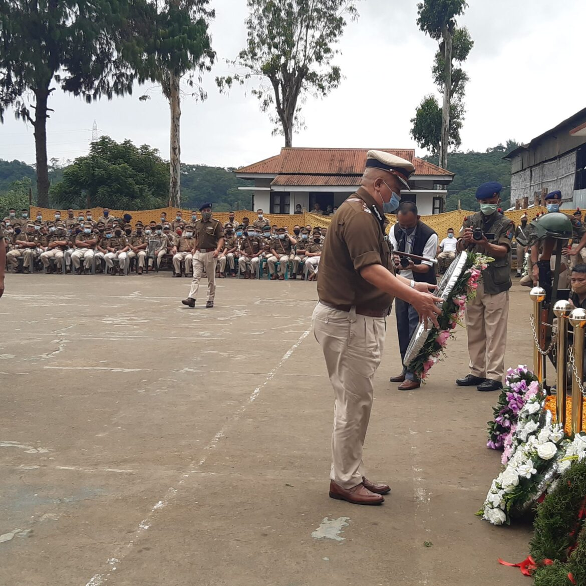 Nagaland Police observed the Police Commemoration Day Parade