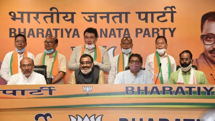 BJP candidates list for upcoming by elections including Manipur announced