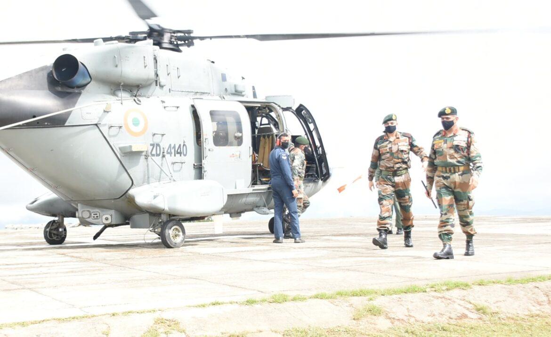 DG of Assam Rifles reviews forward post of Manipur