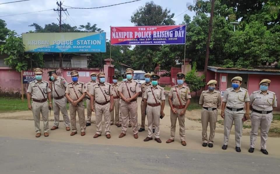 """Service Always Everywhere"": Manipur Police Raising Day celebrated"