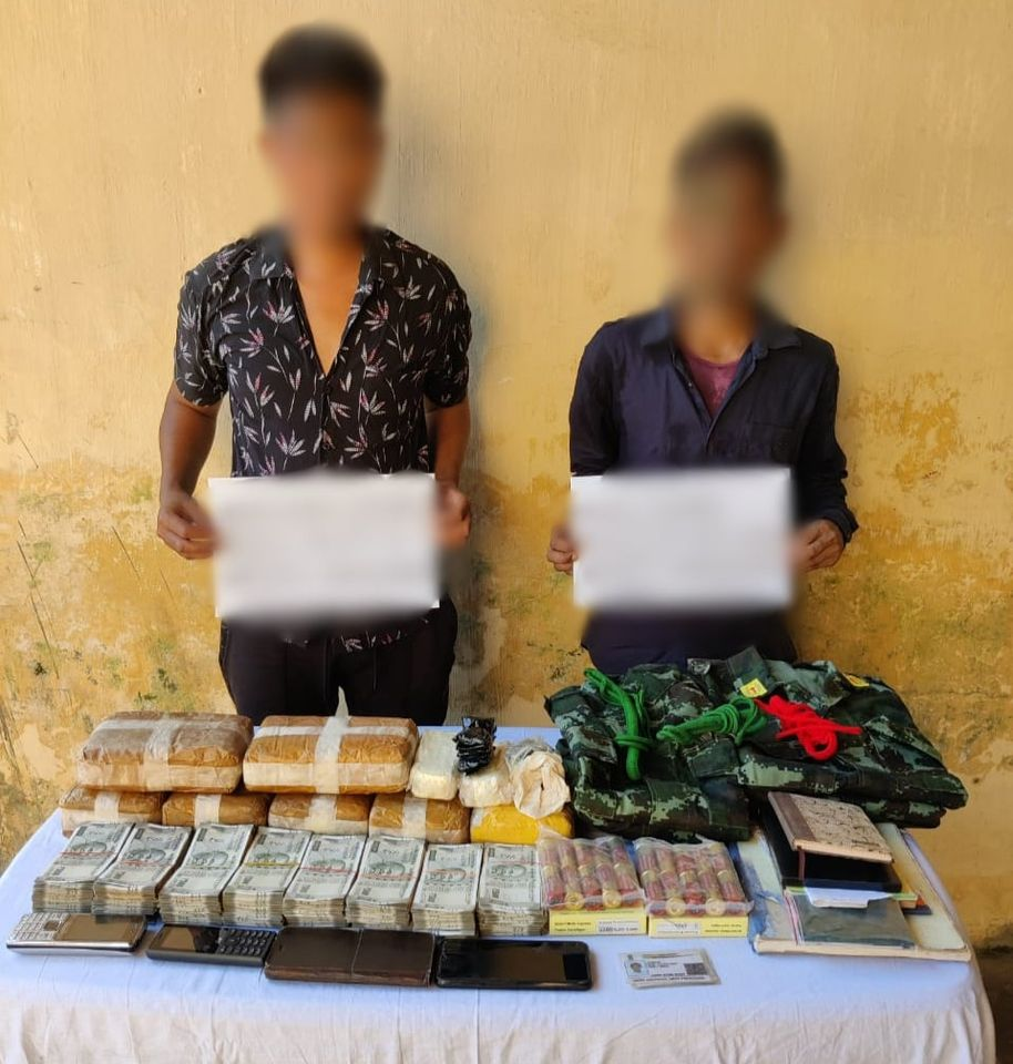 NSCN cadres arrested in Nagaland and Arunachal