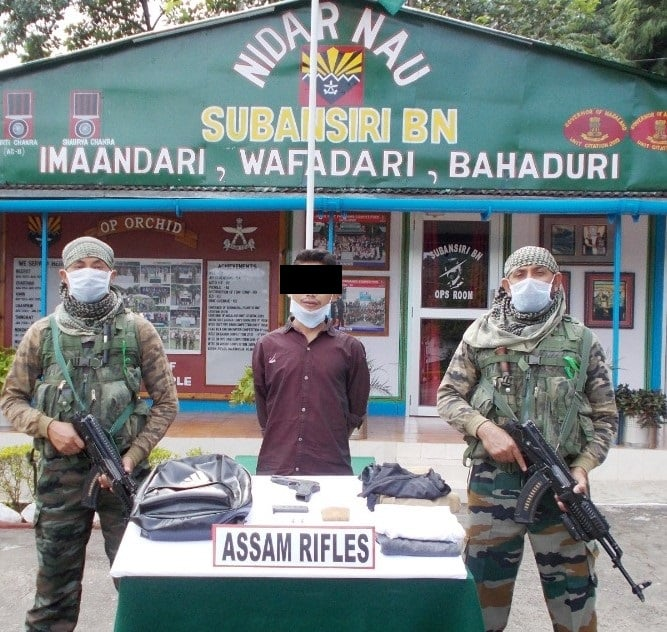 NSCN(R) militant cadre arrested in Arunachal. Opium recovered