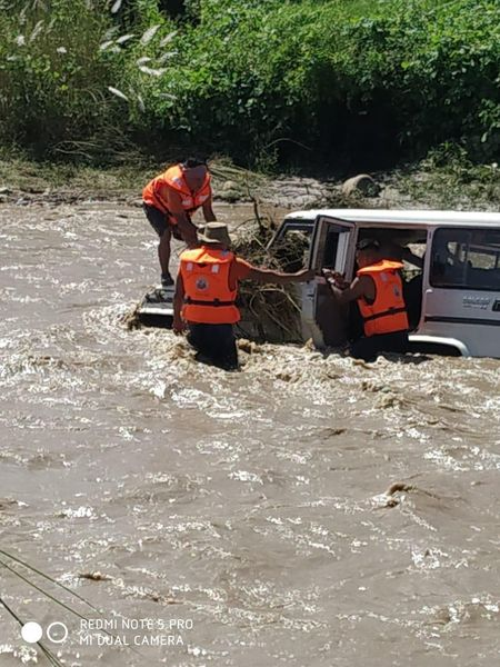 Flash flood in Nagaland: Bolero car with 5 people washed away