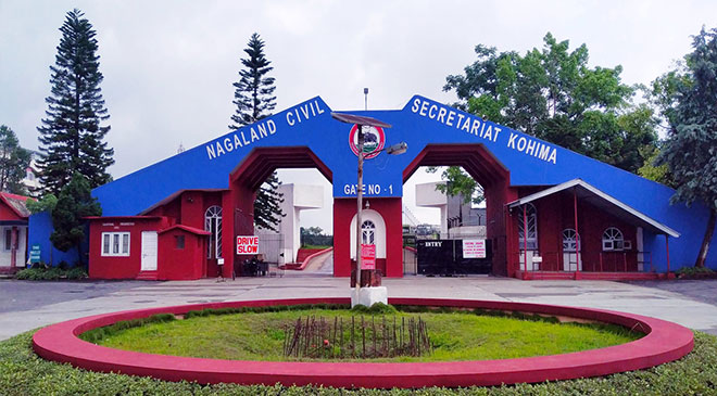 Nagaland Civil Secretariat sealed after detecting COVID cases