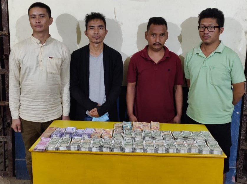 Dimapur police arrests 4 persons on botched robbery drama
