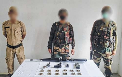 Manipur Insurgents hideout busted in Kangpokpi