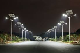 Manipur: Chairperson of the Nambol Municipal Council distributes solar street lamps   to unknown persons