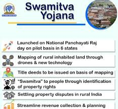 PM launches distribution of property cards under SWAMITVA scheme