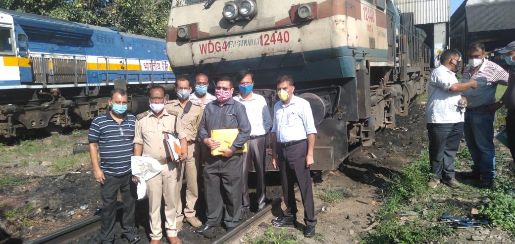 Assam Forest officials seized railway locomotive for killing elephant