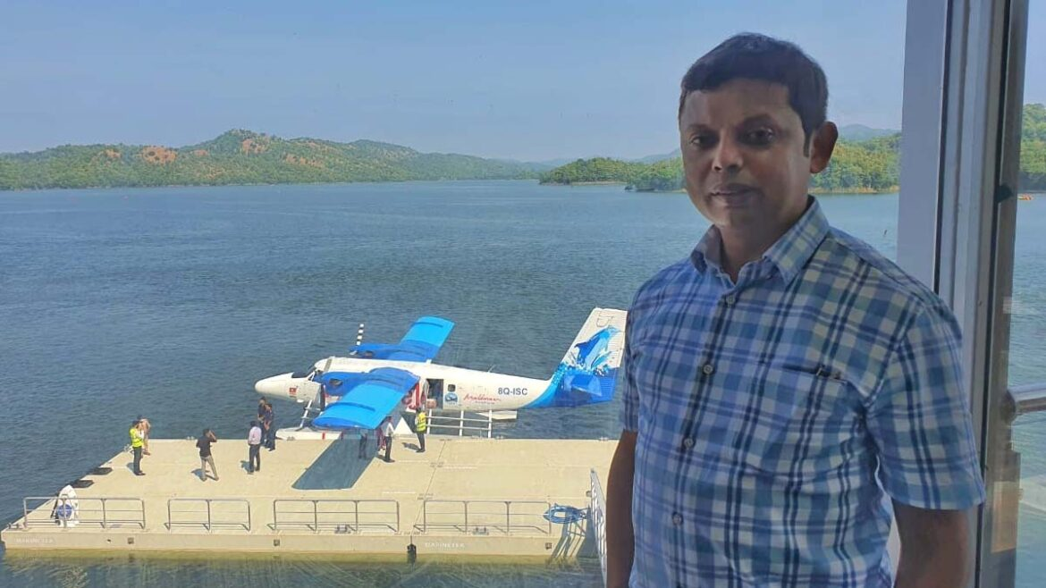 Santanu Kalita from Assam projected India's 1st Sea-Plane