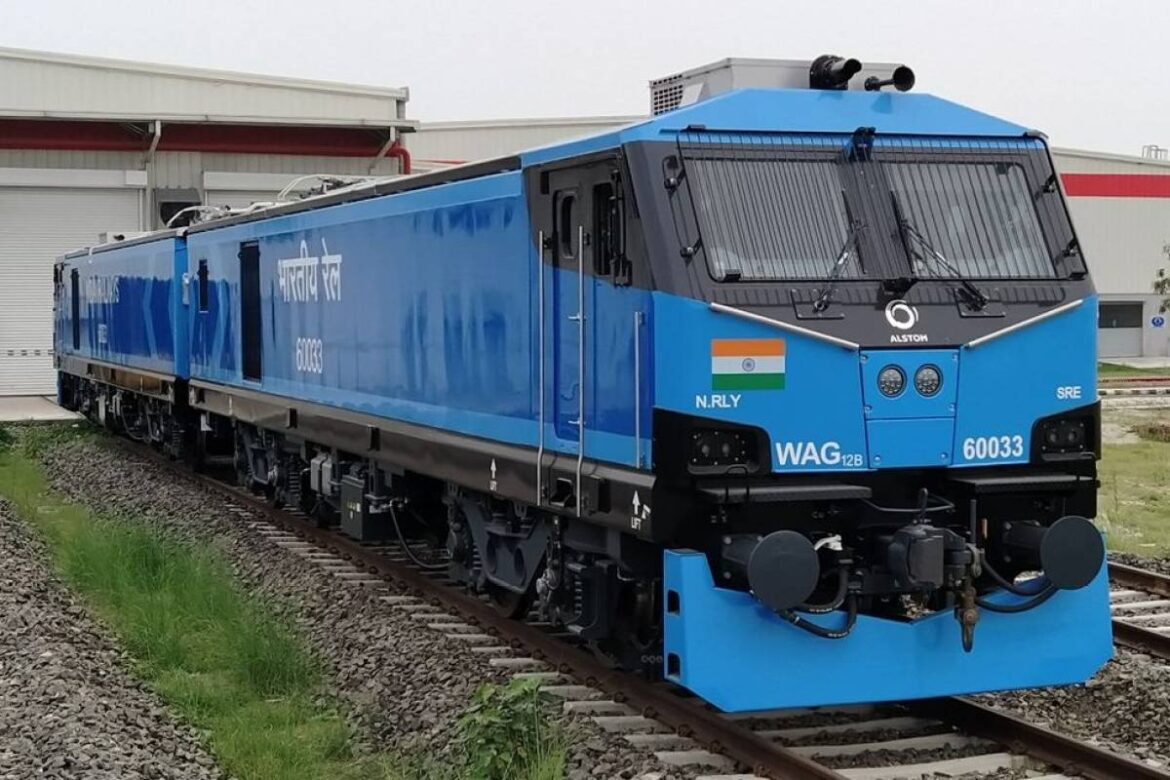 Indian Railways clears Alstom's 12k HP E-Loco capable to run Freight Trains at 120 Kmph