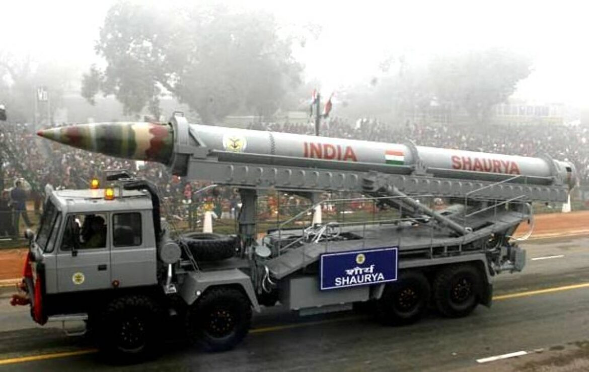 Govt Clears Induction And Deployment Of Supersonic Shaurya Strategic Missile