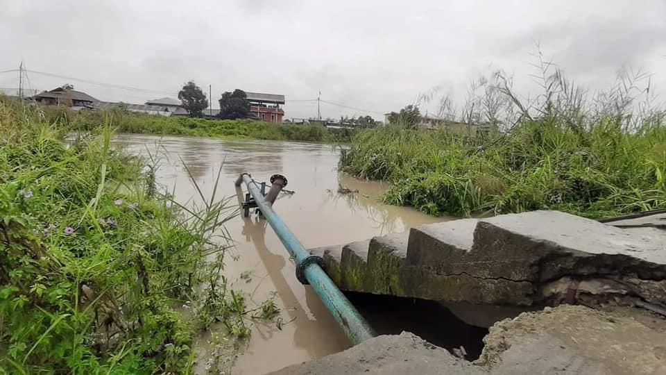 Heavy rains in Imphal, fears flood