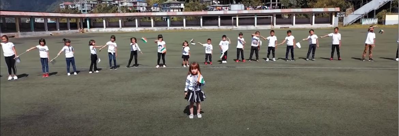 Cute 4 year pre-school kid from Mizoram recreates VANDE MATRAM song