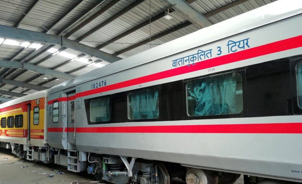 Indian Railways to replace Sleeper Coaches with AC coaches in coming years