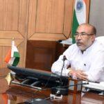 manipur cm biren singh reiterates commitment to fight covid 19