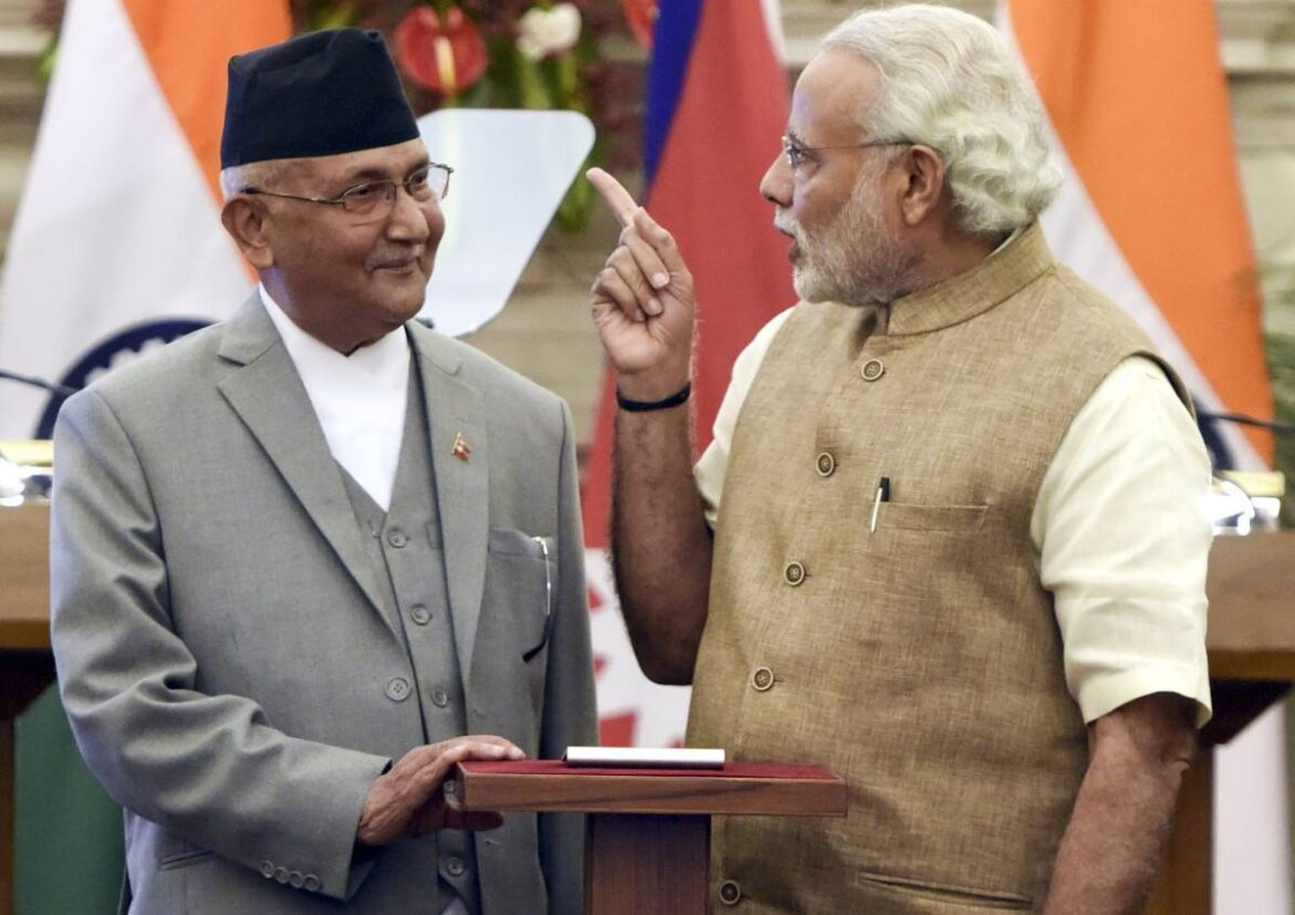 Nepal PM Oli reverts back to old map. Surprises friends and foes