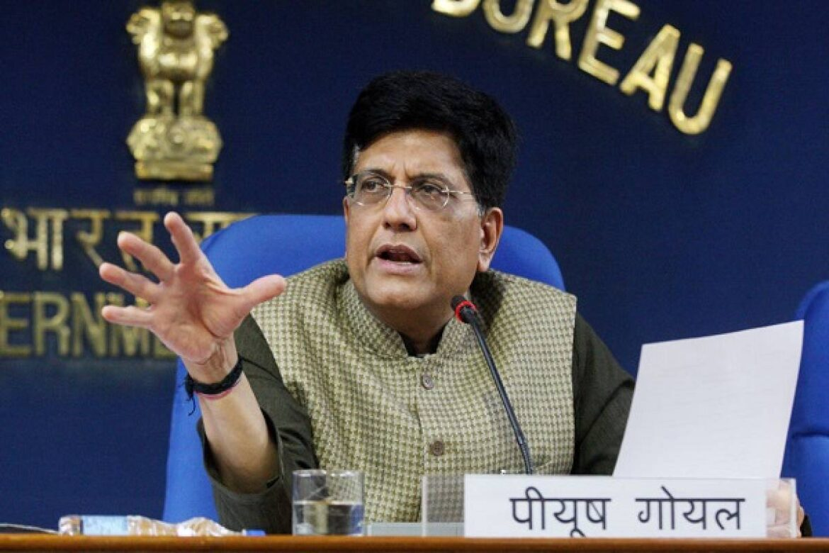 Piyush Goyal gets additional charge of Consumer Affairs, Food and Public Distribution