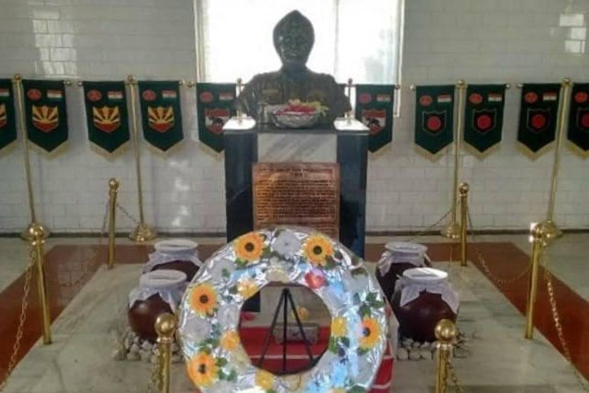 War Memorial Dedicated To 1962 War Hero Subedar Joginder ...