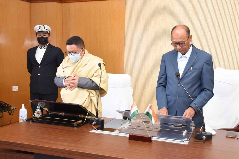 M Rameshwar sworn in as an MLA of Kakching following Manipur HC order