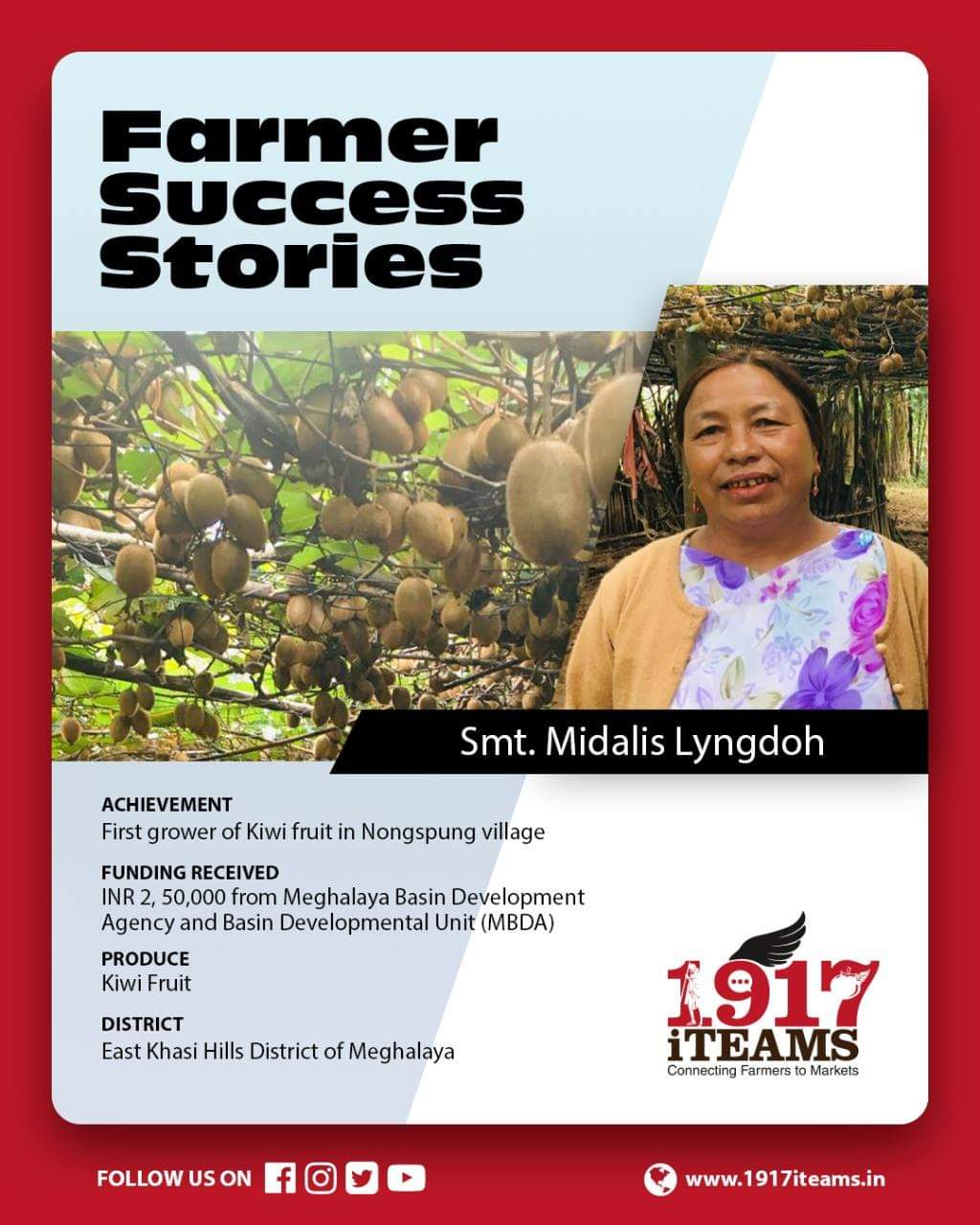 Midalis Lyngdoh: Woman who turned a Meghalaya village to a Kiwi land