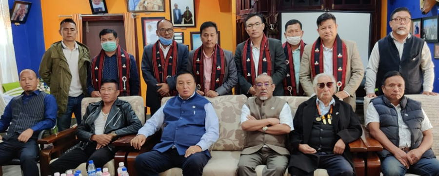 WC-NNPG and COCOMI leaders met in Dimapur