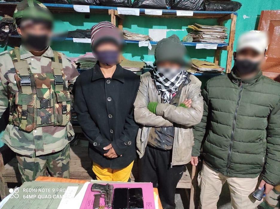 Manipur: Assam Rifles arrest  NSCN-IM Cadres