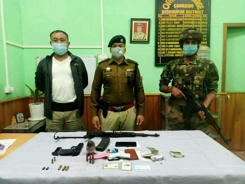 UPDATED: 2 NSCN-IM militants injured in encounter with Manipur Police commandos