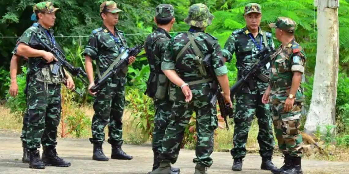 JUST IN: Encounter between Manipur Police commandos and suspected NSCN-IM militants