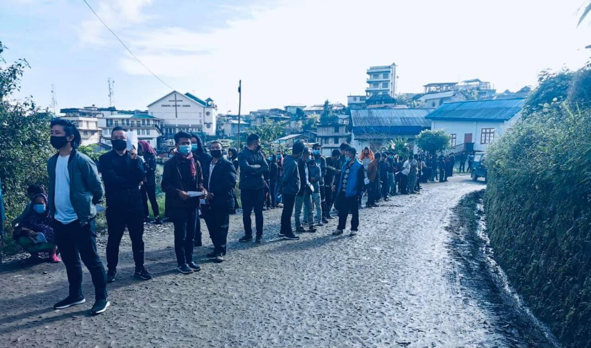 Nagaland by-elections: Polling in progress