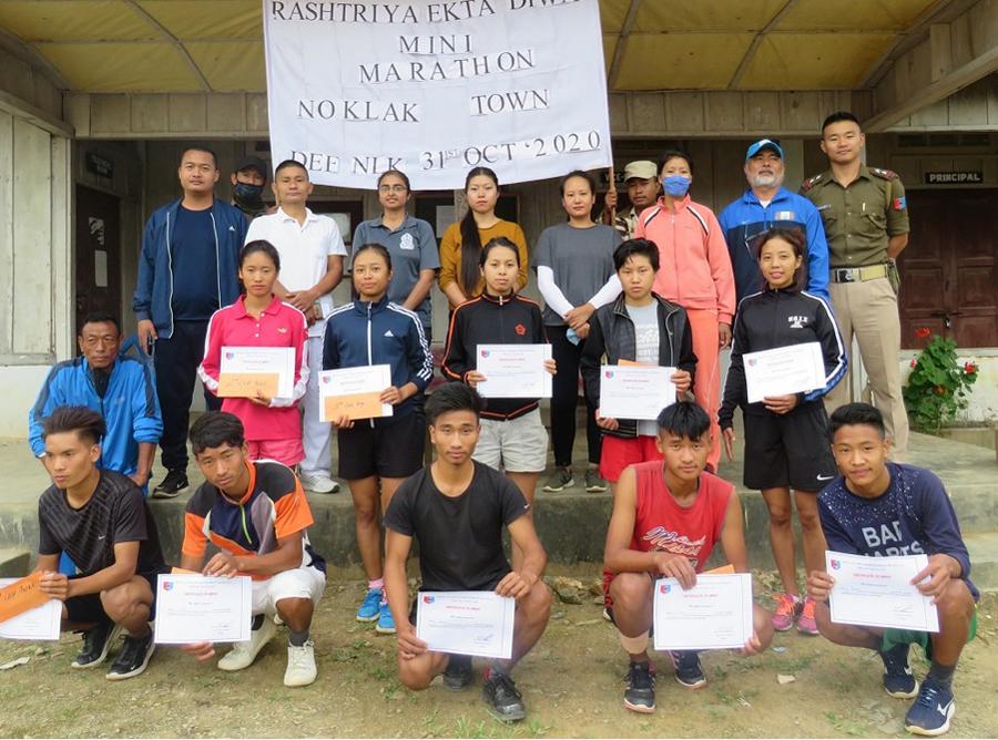 Rashtriya Ekta Diwas celebrated in Noklak, Nagaland