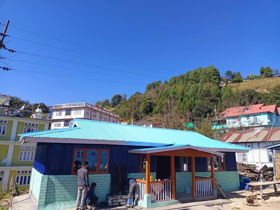 Tawang students turned masons and built community library in a bid to inspire reading