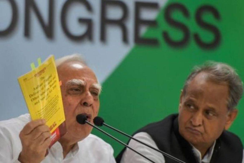 Congress Fights Congress: Ashok Gehlot Hits Out At Kapil Sibal