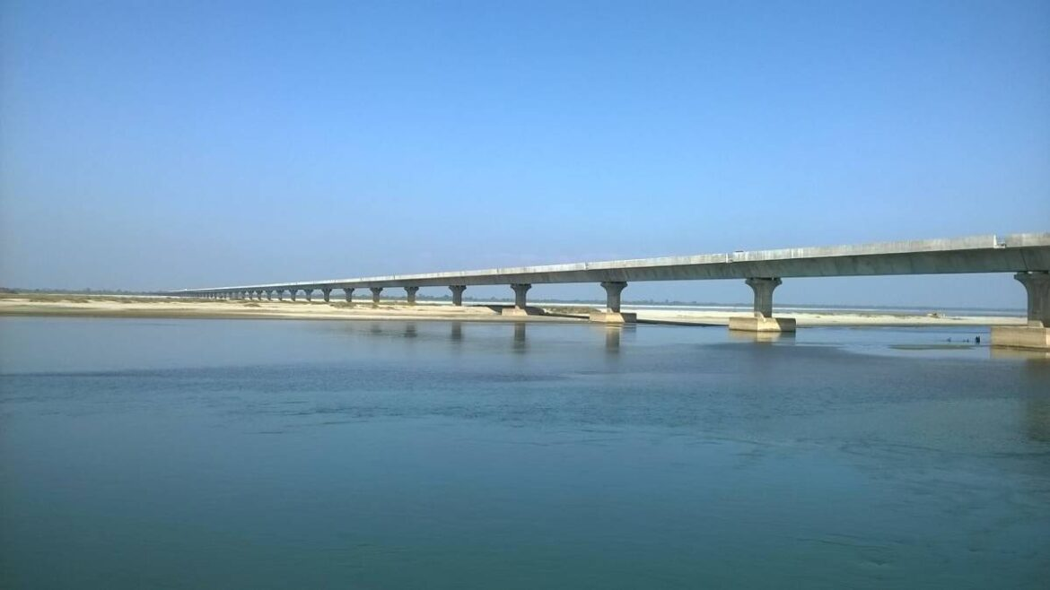India's longest road bridges is set to come up between Assam and Meghalaya over the Brahmaputra river