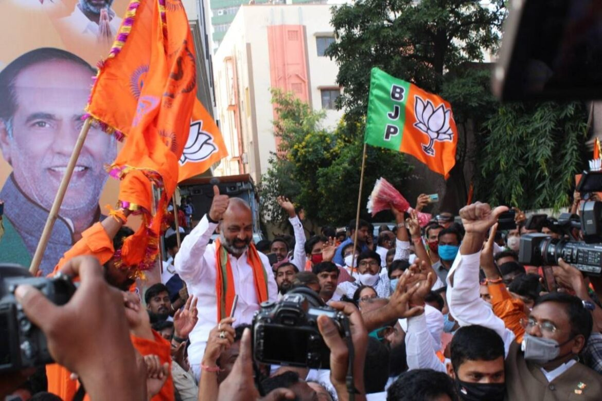 BJP's victory in By-Polls to Dubbaka in Telangana is signifcca