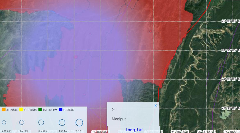 Earthquake of 3.5 Magnitude jolted Tripura