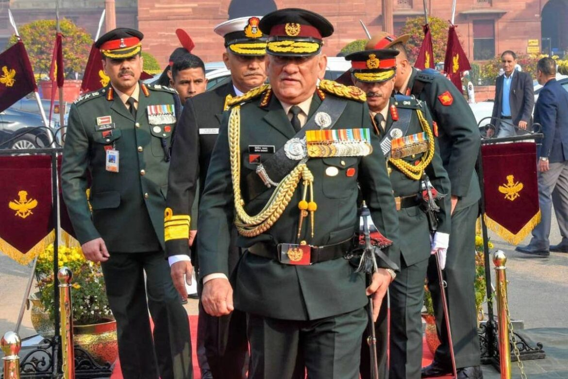 Possibility of a war with China can't be ruled out: CDS General Bipin Rawat