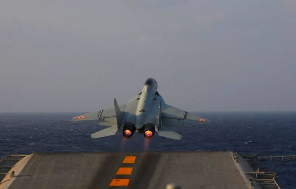 Indian Navy MiG-29K Jet Crashes In Arabian Sea; One Pilot Recovered, Search Ops On For Co-Pilot