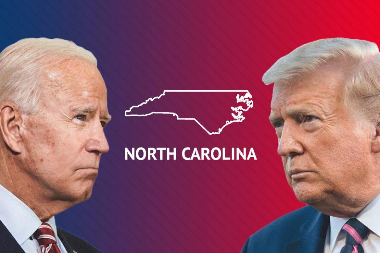 North Carolina: More Than 90% Ballots, Trump Leads