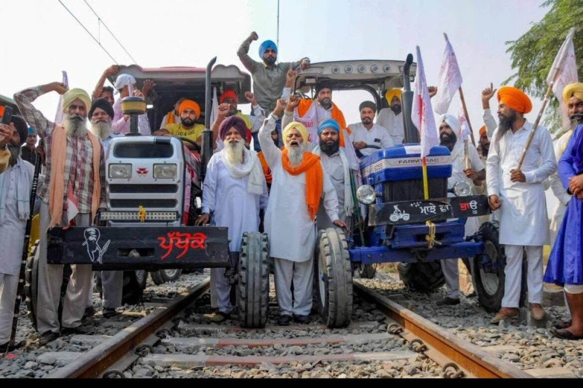 Protestors In Punjab Lift 2 Month Long Blockade.Goods And Passenger Trains To Resume Operations