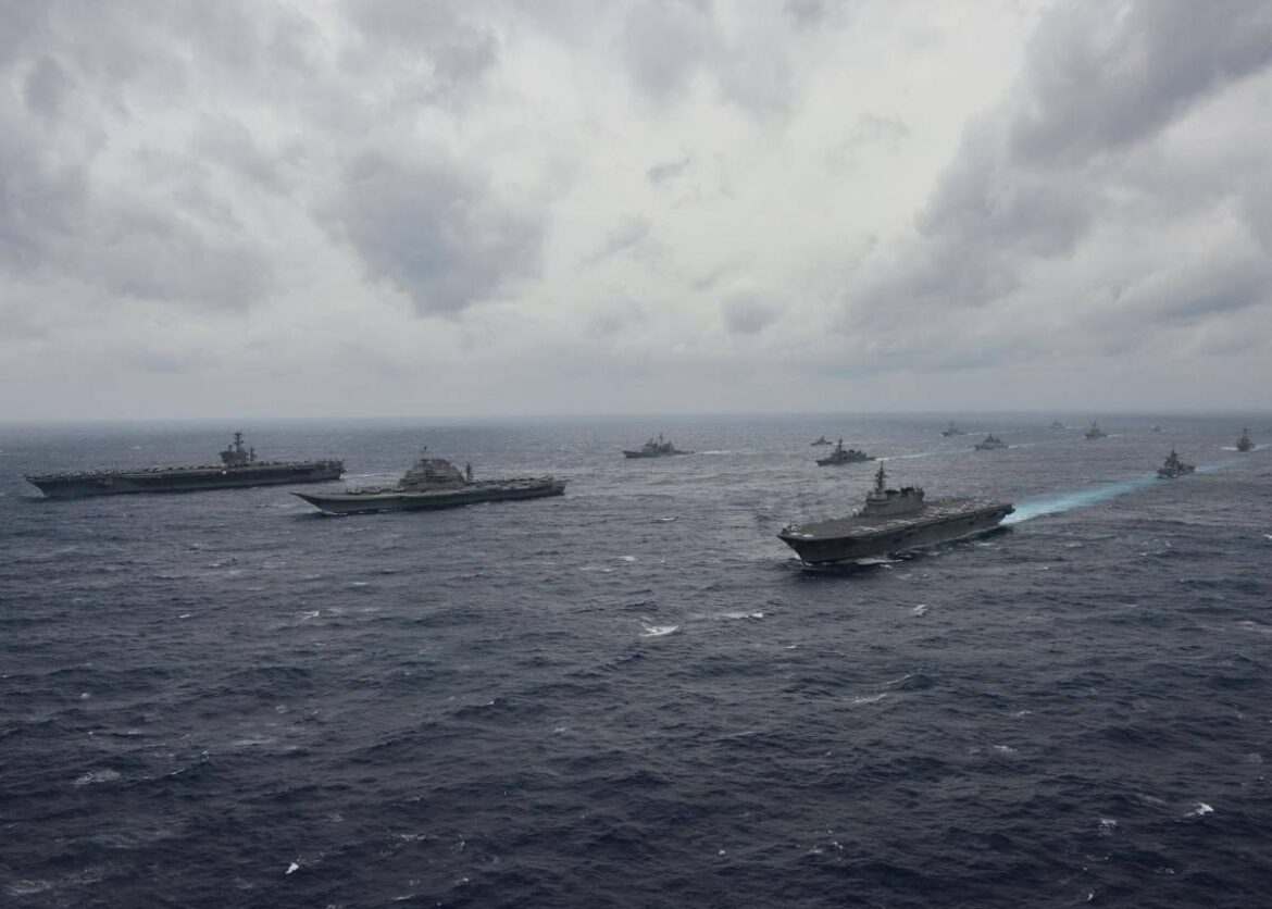 QUAD Naval Forces To Begin Second Round Of The Landmark Malabar Exercise Off The Coast Of Goa