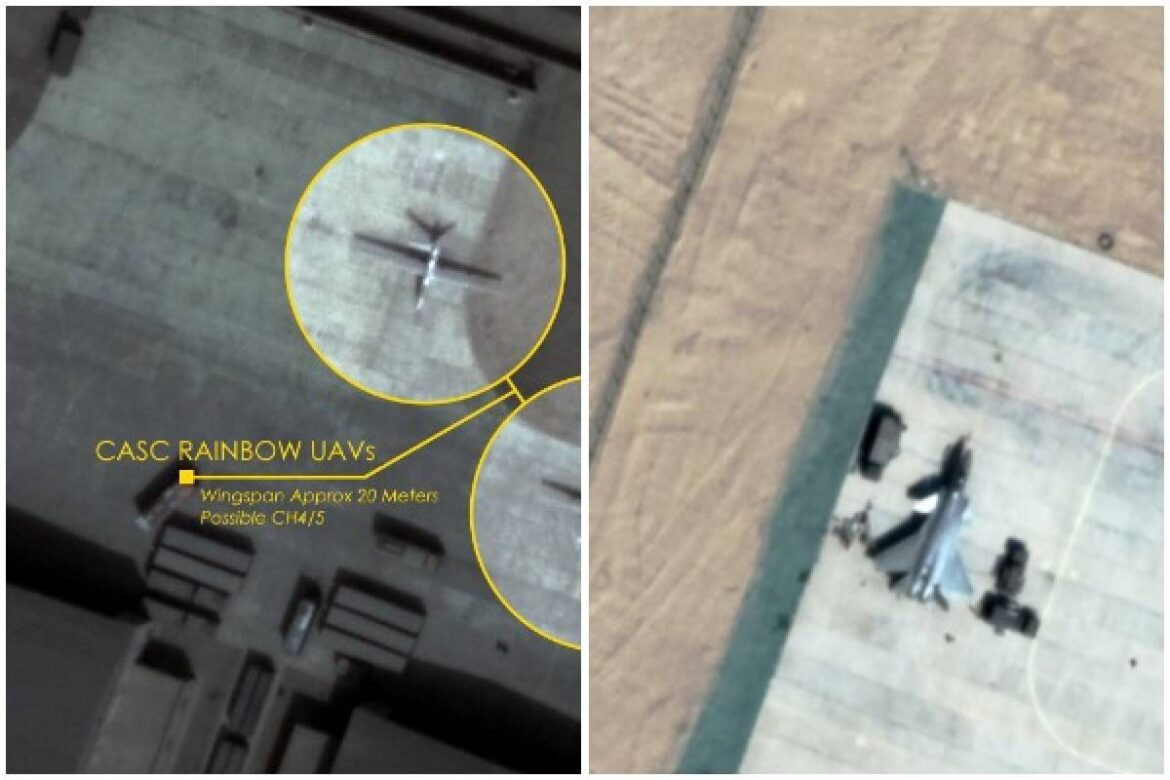 China deployed Drones, J-20 Stealth Fighters at Hotan Airbase North Of Ladakh