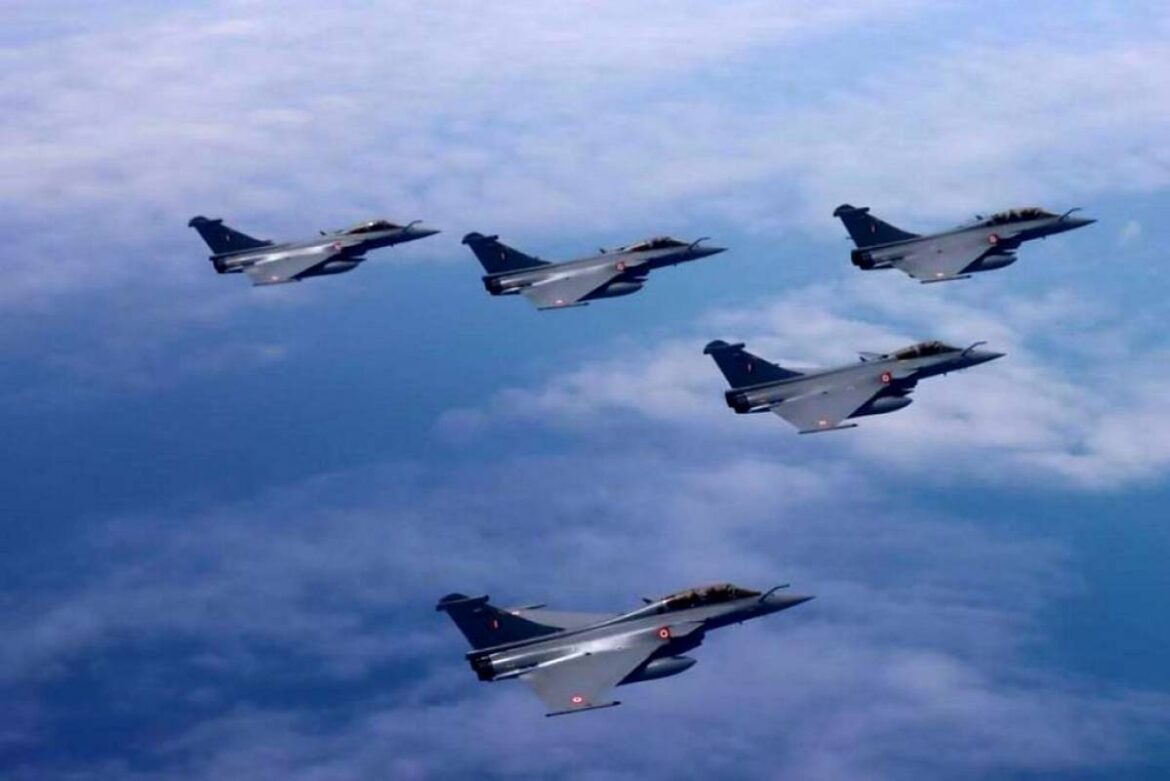 3 More Rafale Fighters Land In India. 13 more to be delivered by April 2021